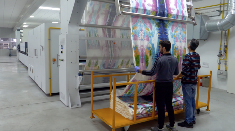 Digital fabric printing cost