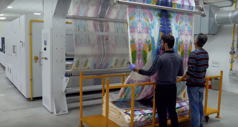 single pass printing textile industry