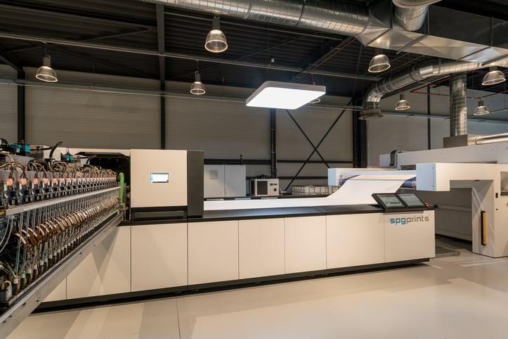 single pass printing industry