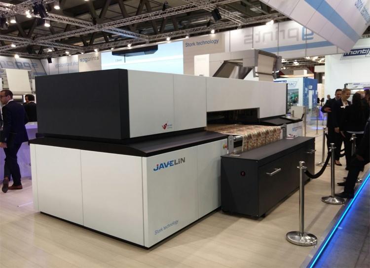 multi pass textile printing